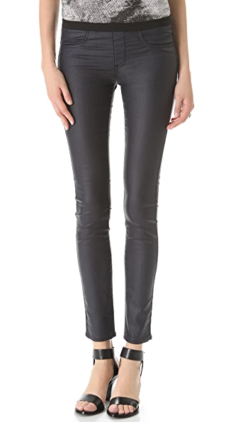 HELMUT Helmut Lang Sea Wash Coated Legging Jeans