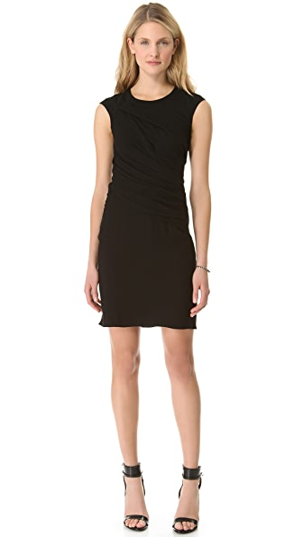 HELMUT Helmut Lang Flash Drape Twist Dress