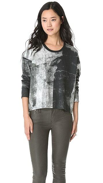 HELMUT Helmut Lang Band Print Sweatshirt