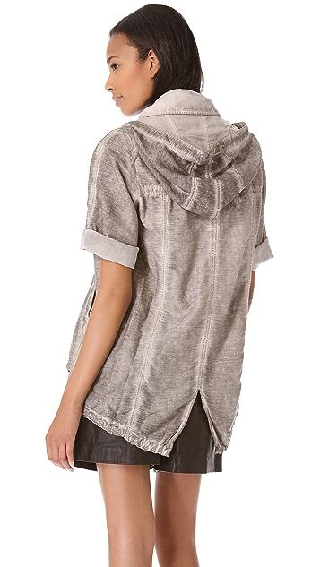 HELMUT Helmut Lang Cotton Silk Anorak