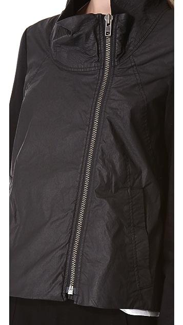 HELMUT Helmut Lang Combo Sweatshirt Jacket
