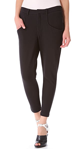 HELMUT Helmut Lang Dynamite Terry Slouchy Pants