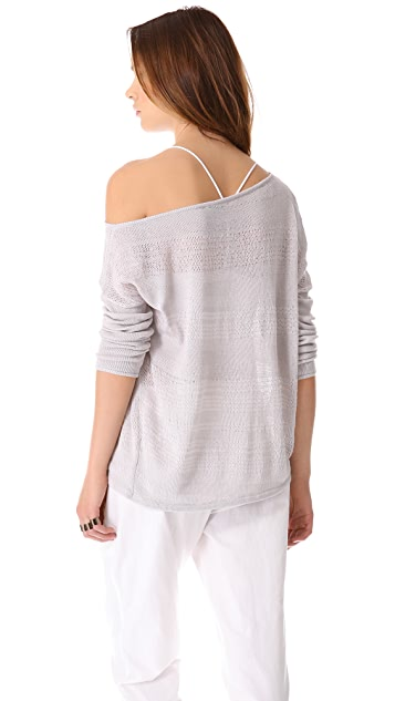 HELMUT Helmut Lang Supple Blend Pullover