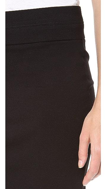 HELMUT Helmut Lang Jersey Miniskirt