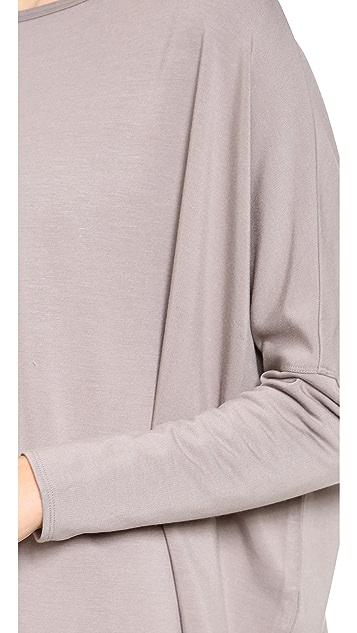 HELMUT Helmut Lang Villous Oversize Pullover