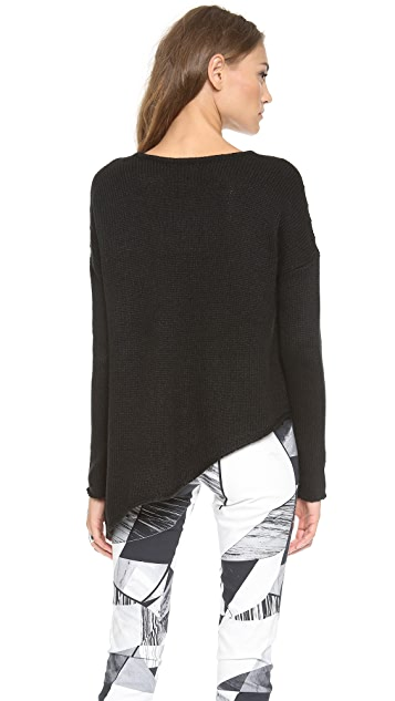 HELMUT Helmut Lang Asymmetrical Pullover