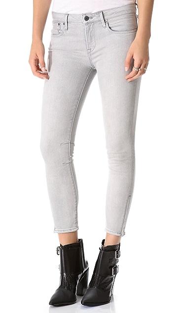 HELMUT Helmut Lang Cropped Skinny Jeans
