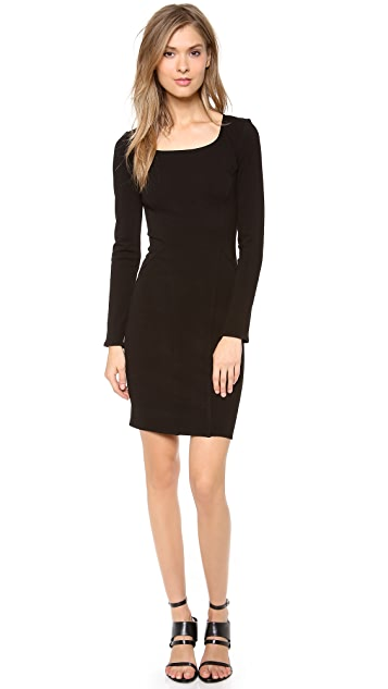 HELMUT Helmut Lang Gala Knit Dress