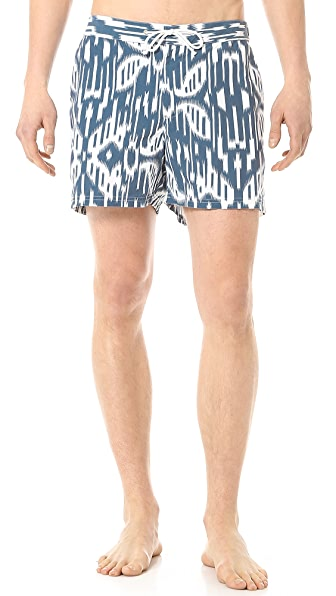 Hentsch Man Moire Swim Trunks