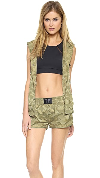 Heroine Sport Windbreaker Hooded Vest