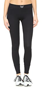 Ribbed Performance Leggings                Heroine Sport