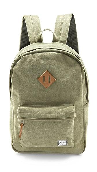Herschel Supply Co. Washed Heritage Backpack