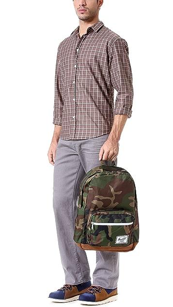 Herschel Supply Co. Pop Quiz Backpack with Suede Bottom
