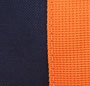Navy/Mandarin