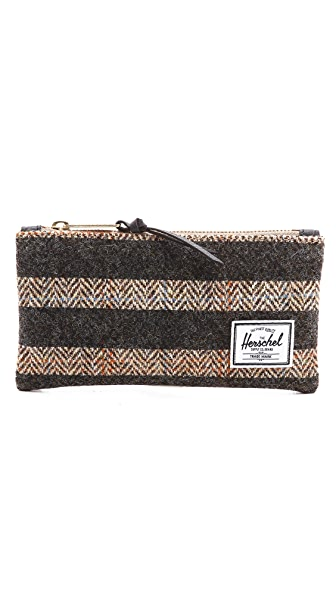 Herschel Supply Co. Network Harris Tweed Small Pouch