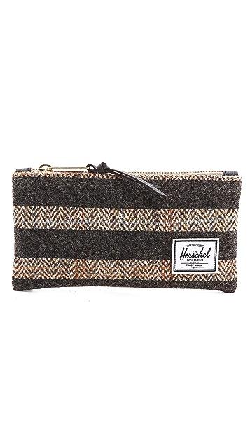 Herschel Supply Co. Network Harris Tweed Small Pouch