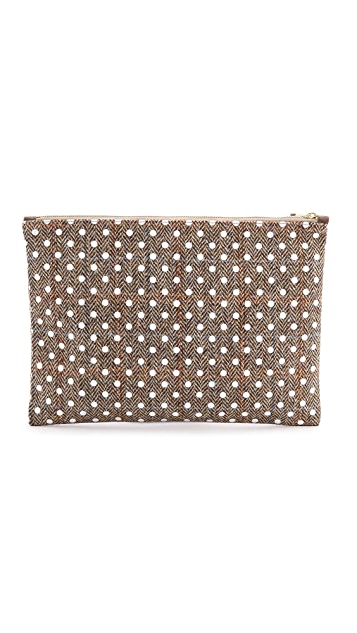 Herschel Supply Co. Network Harris Tweed Extra Large Pouch