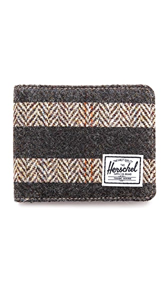 Herschel Supply Co. Hank Harris Tweed Bifold Wallet