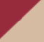 Burgundy/Khaki