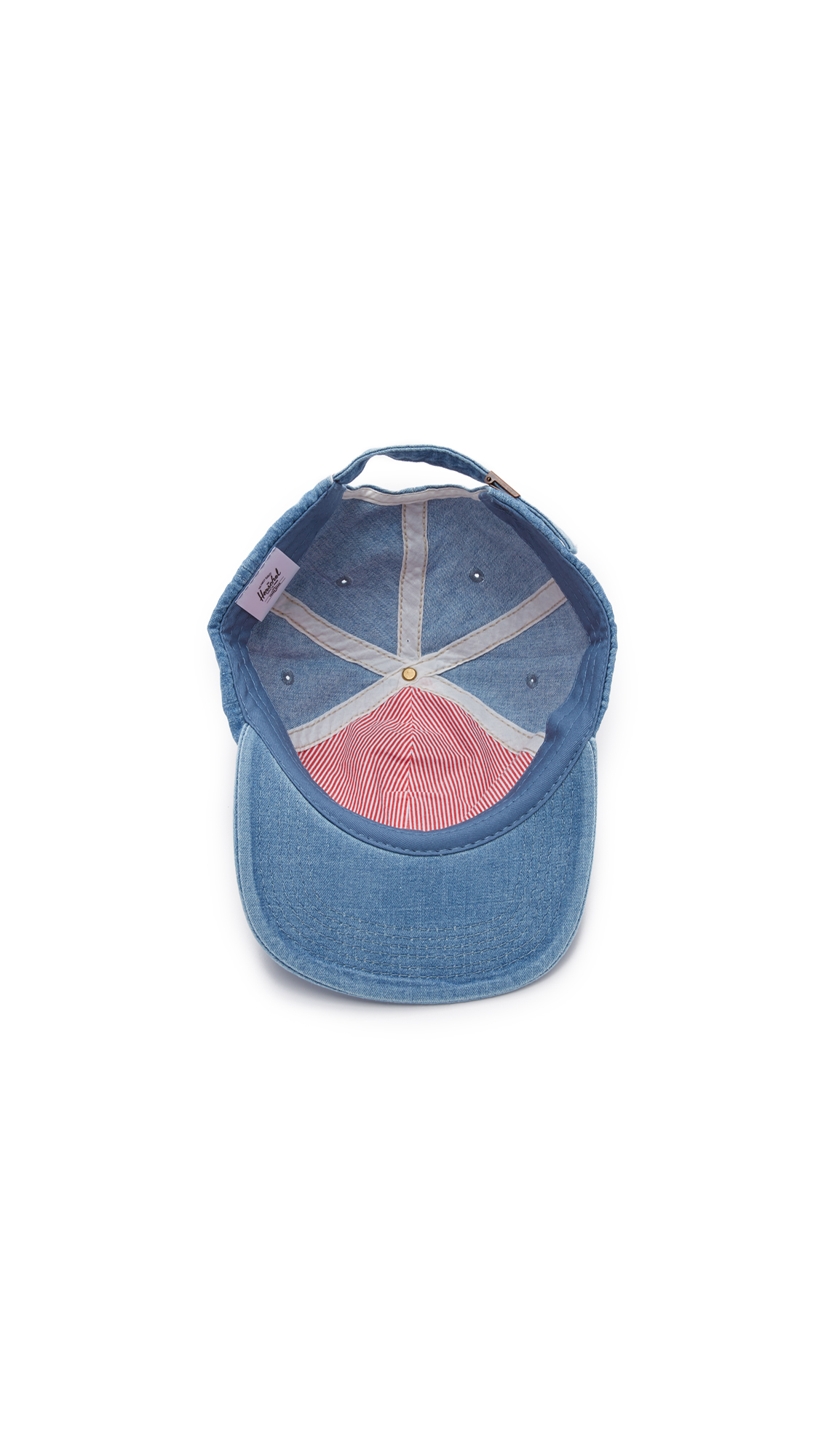 new product 9e8b5 e2e51 Herschel Supply Co. Faded Denim Albert Cap   EAST DANE