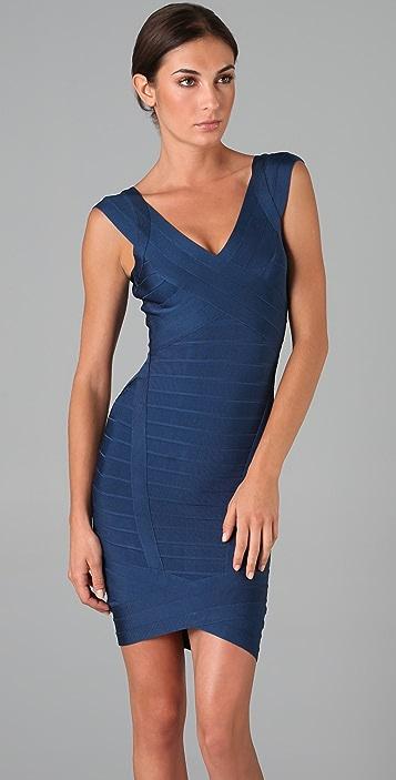 Herve Leger Novelty Essentials Dress