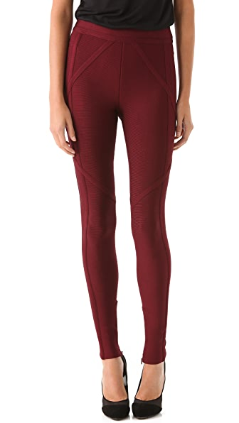 Herve Leger Full Length Leggings