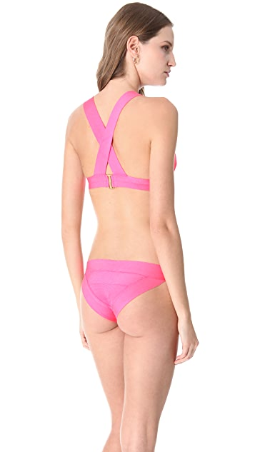 Herve Leger Sporty Bikini