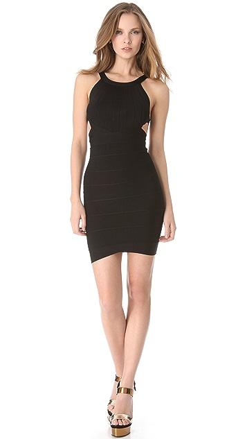 Herve Leger Zaria Mini Dress