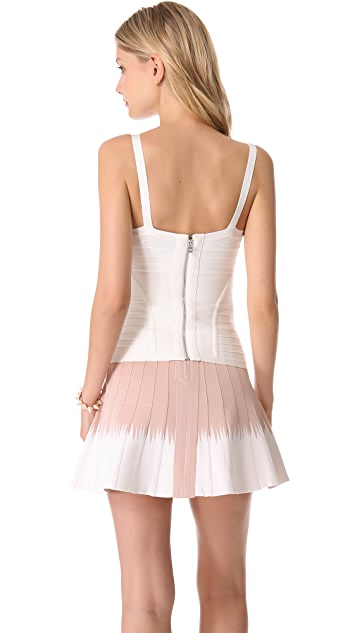 Herve Leger Suma Fitted Tank