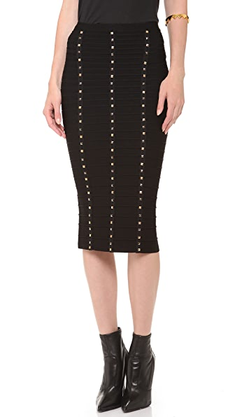 Herve Leger Pencil Skirt