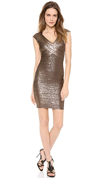Herve Leger Ebony Dress