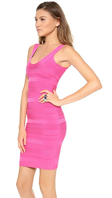Herve Leger Lilykate Cocktail Dress