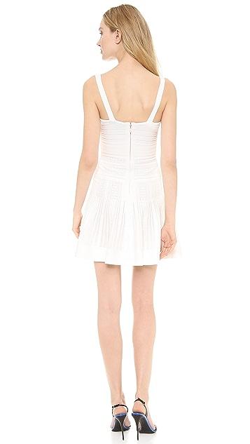 Herve Leger Thana Textured Dress