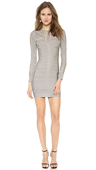 Herve Leger Roselynn Cocktail Dress