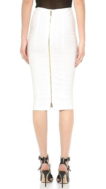Herve Leger Sia Pencil Skirt