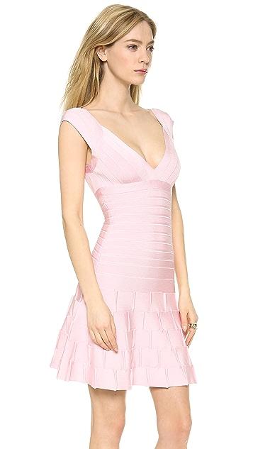 Herve Leger Mirah Mini Dress