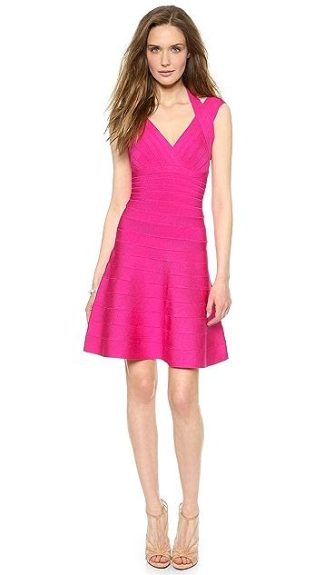 Herve Leger Rebekka Mini Dress