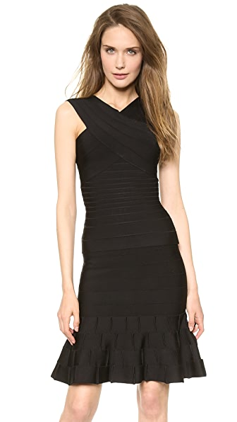 Herve Leger Leto Sleeveless Top