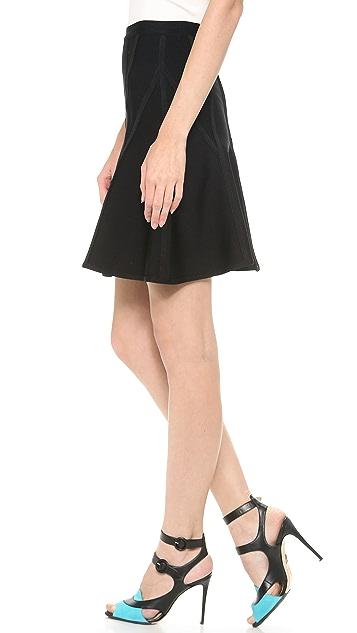 Herve Leger A Line Skirt