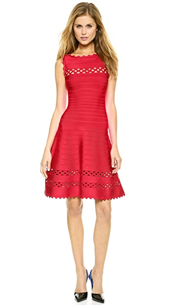 Herve Leger Audrina Sleeveless Dress