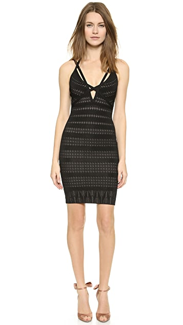 Herve Leger Lauren Cocktail Dress