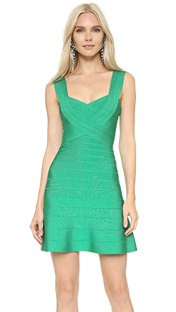 Herve Leger Elisha Dress