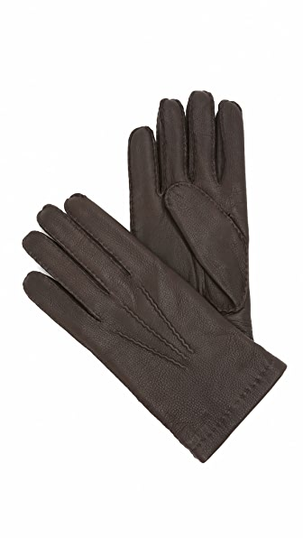 Hestra Matthew Wool Lined Leather Gloves