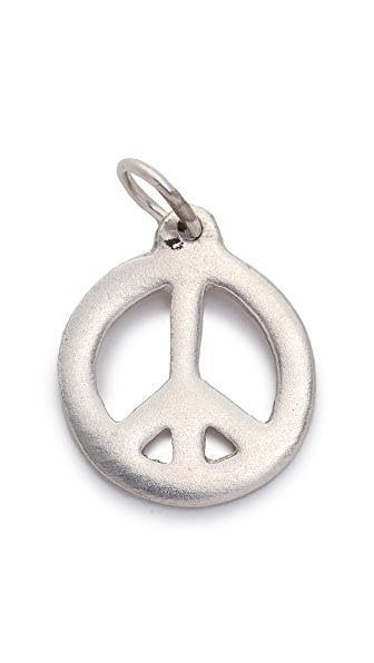 Helen Ficalora Peace Sign Charm