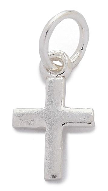 Helen Ficalora Cross Charm
