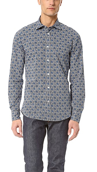 Hartford Liberty Print Sport Shirt