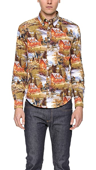 Hartford Pinup Mountain Shirt