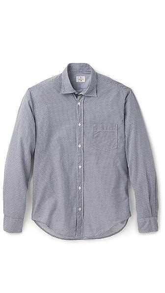 Hartford Micro Floral Shirt