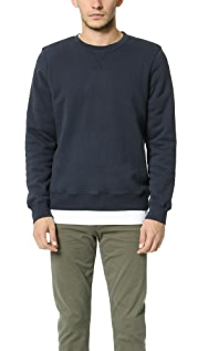 Hartford Lined Crew Sweatshirt