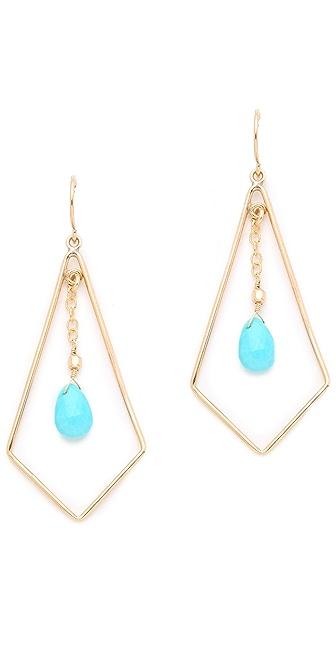 Heather Hawkins Tri Drop Earrings